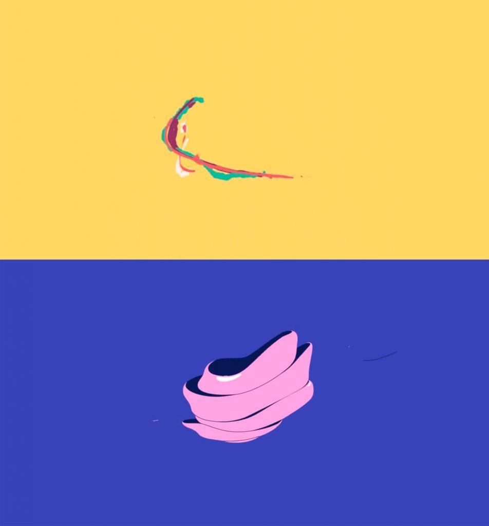 Анимация логотипа в стиле жидкости